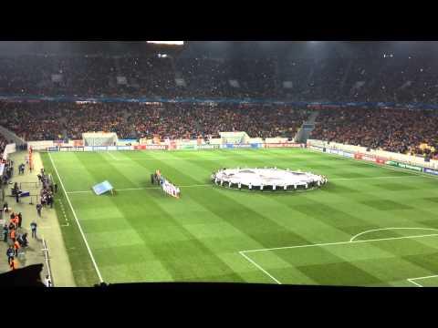 Гимн Лиги чемпионов на Львов-Арене