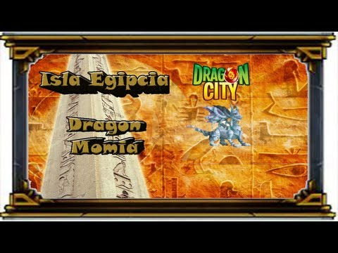 Facebook - Dragon City - Evento Isla Egipcia - The Undead - Dragon Momia
