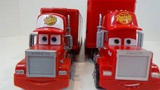 MCQUEEN, Open a New Toy, Truck Mack, Funn Video for Kids, Cheerful Music for Children