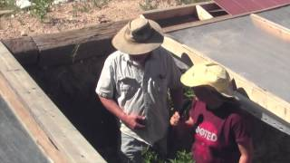 tour a Walapini greenhouse with Mark Irwin Download Download