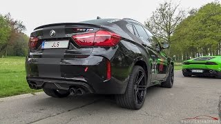 700HP BMW X6M w/ Akrapovic Exhaust - LOUD Revs & Accelerations !