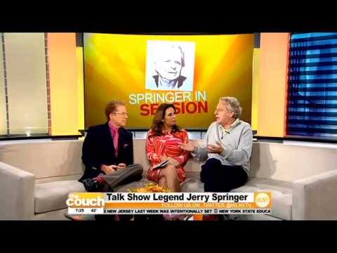 Talk Show Legend Jerry Springer Stops By The Couch