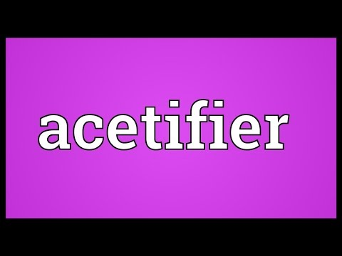 Header of Acetifier