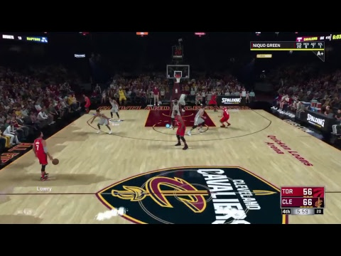 NBA 2K18 5th season game 34