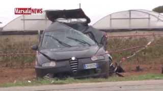 video Marsalanews.it - Le immagini scoccanti dopo l'incidente mortale avvenuto in contrada Triglia Scaletta che ha visto coinvolti Valentina Zerilli e la figlia di...