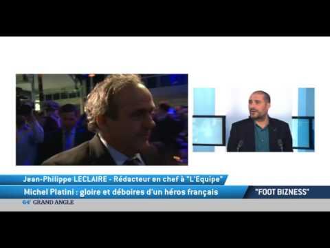 """""""Foot Bizness"""": Michel Platini, gloire et déboires d'un héros français"""