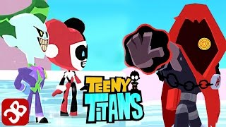 Teeny Titans - Joker and Harley Quinn VS The Hooded Hood - iOS / Android - Gameplay Video
