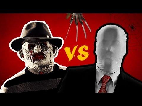 FREDDY vs. SLENDERMAN - Rap Battle #11 - Digges Ding Comedy