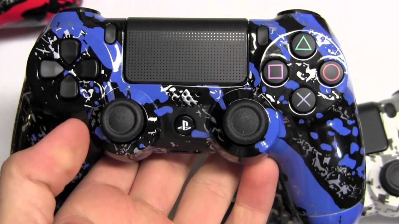 PS4 CONTROLLERS! - YouTube H20 Delirious Controller