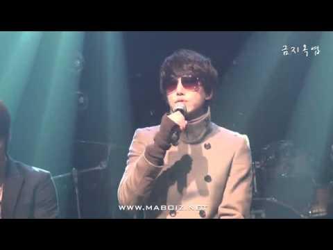 101214  Kyuhyun - After Love  [fancam] + Mp3 download link