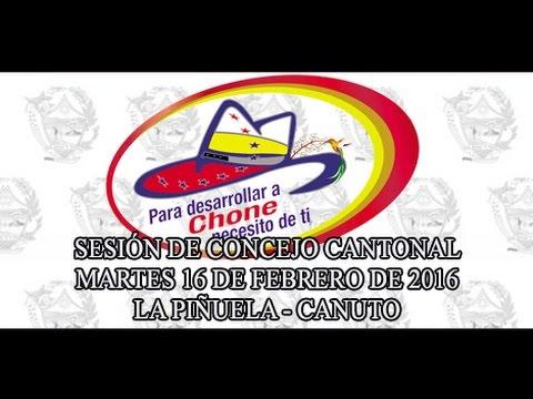 Sesión de Concejo - 16 FEB 2016