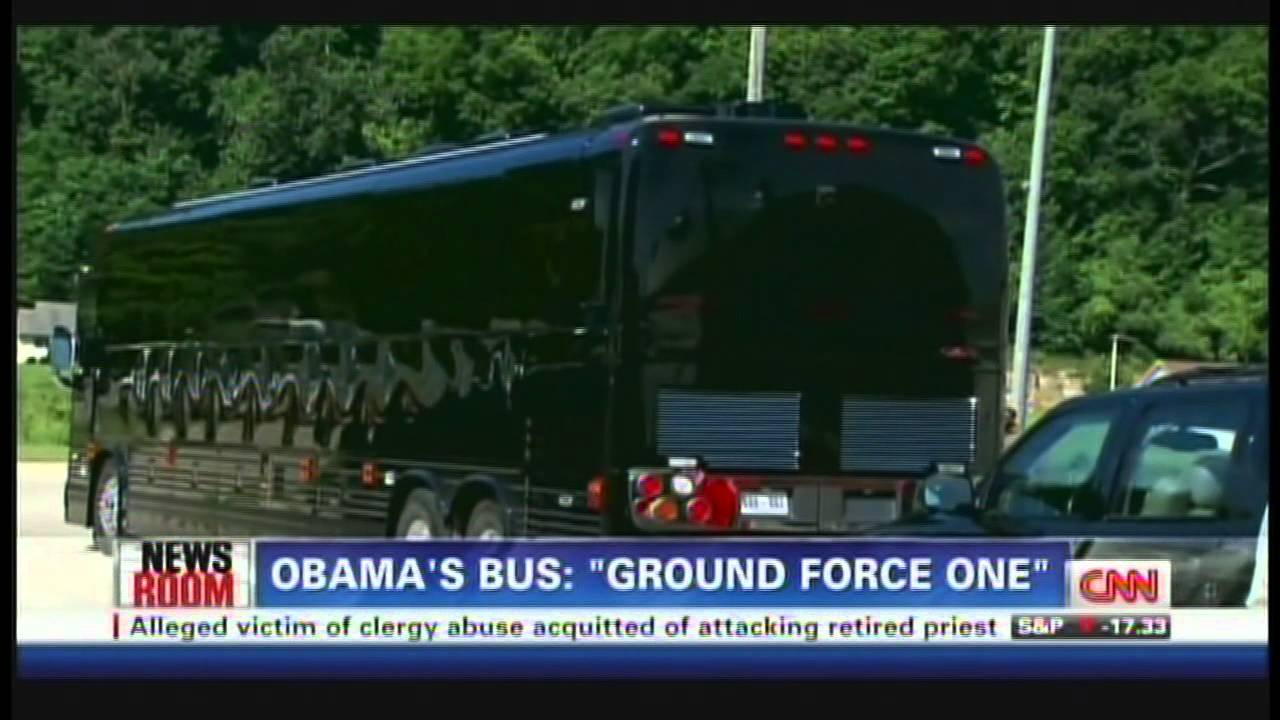 Ground Force One Bus President Obama Ground...