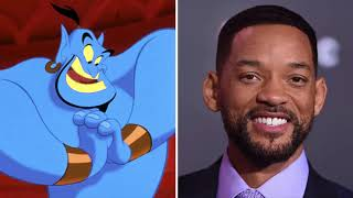 Aladdin (2019) cast - Animated Vs Real - See first look of Movie