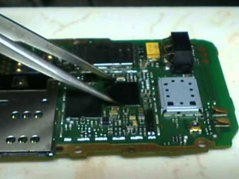 NOKIA x2-02 pm ic replasd water damage phone