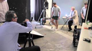 Behind the Scenes of the Brian Schimdt photo shoot with Gary Heery