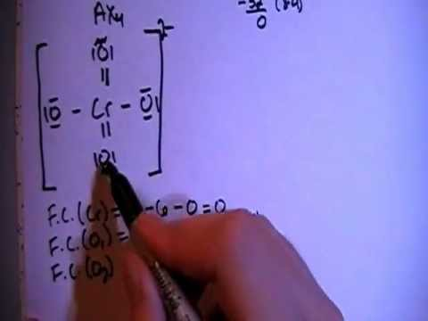 Chromate Ion CrO4 2 Lewis Dot Structure  YouTube