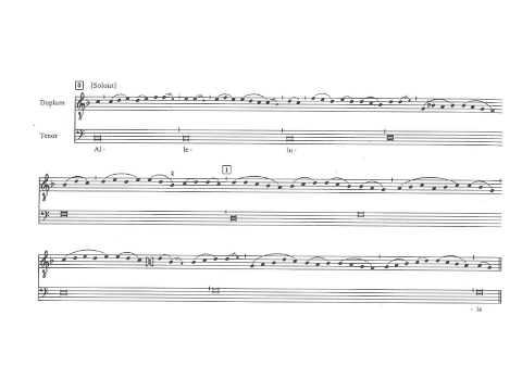 Leonin Pascha Nostrum Organum Duplum Partitura Interpretación
