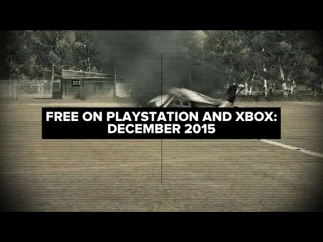 What's free on PlayStation and Xbox: December 2015