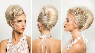 LONG HAIR STYLING TUTORIAL: Textured Modern French Roll
