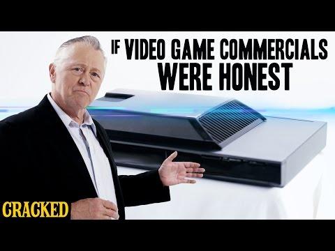 If Video Game Commercials Were Honest - Honest Ads