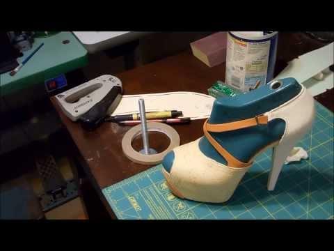 How To Make Shoes (killer Snake Skin High Heels) ( video