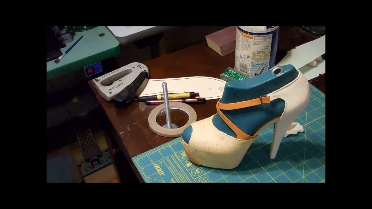 High Heel Shoe Making Process