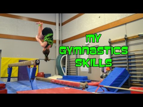 Gymnastics Skills & Gymnastics Fails | Bethany G