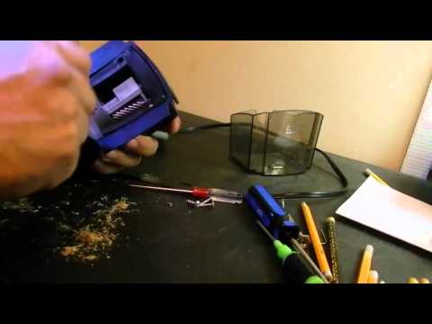 How to Repair a Jammed Electric Pencil Sharpener