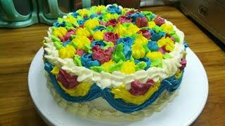 Birthday cake recipe/চুলায় তৈরি জম্মদিনের কেক রেসিপি/Sweet Recipe/Janmadin ka kek nuskha