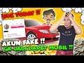 GARA2 PAKE FAKE ACCOUNT GA JADI DAPET MOBIL !!!