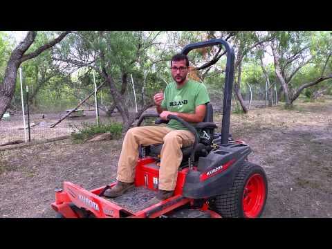 Kubota ZG123S Z-Series Zero Turn Mower: My Review and Experience