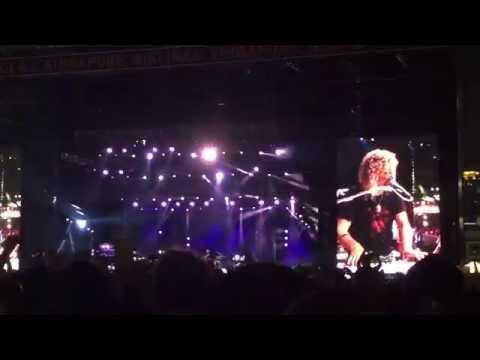 Bon Jovi - It's My Life 21 Sep 2015 Singapore Grand Prix ボン・ジョヴィ