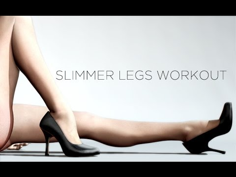 How to get SLIMMER THIGHS Leg Slimming Workout for Women!!
