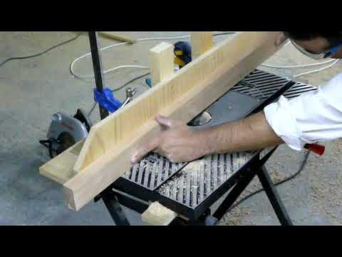 Haciendo acanaladuras con fresadora youtube for Manual para hacer una cama de madera