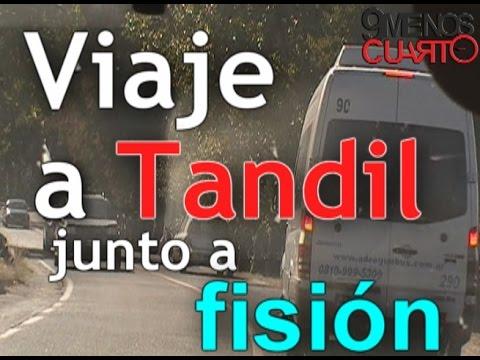 Viaje a Tandil junto a Fision | 9 MENOS CUARTO