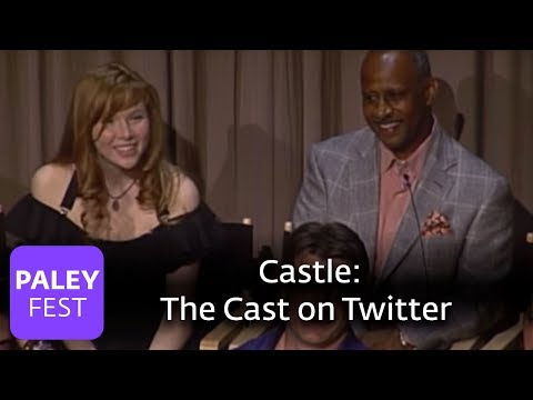 Castle - Nathan Fillion & Cast on Twitter (Paley Center, 2010)
