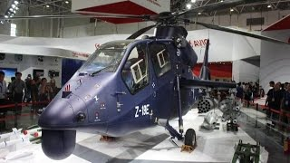New Chinese attack helicopter makes maiden flight