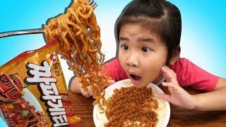 BeBun Pretend Cooking - 뽀로로짜장면이부족할땐보람이를불러주세요! 똘똘이주방놀이장난감으로요리놀이! Pororo Noodle