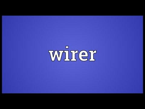 Header of wirer