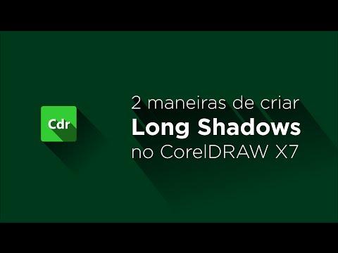 2 formas fáceis de criar long shadows no CorelDRAW X7