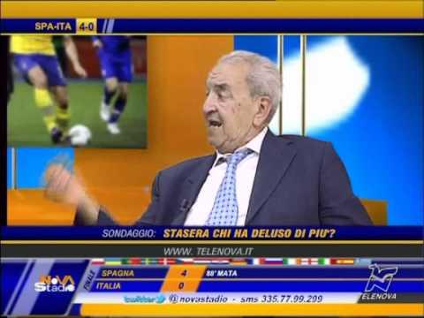 Bruno Pizzul critica Prandelli: ha sbagliato tattica