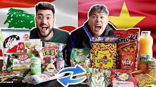 Download Song LEBANESE & ASIAN SWAP SNACKS !! Free StafaMp3