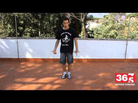 Tutorial - Basic Step (break Dance) video
