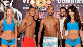 Felix Verdejo VS. Josenilson Dos Santos Official Weigh-In VIDEO!!!