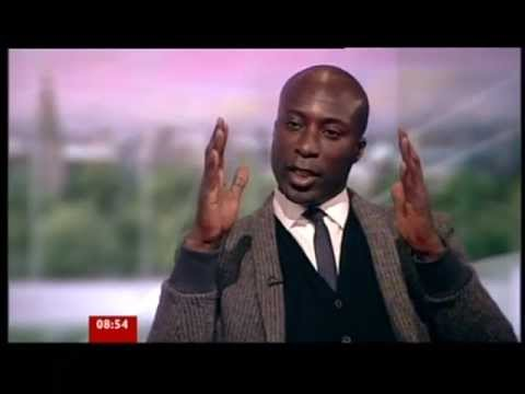 Fashion designer Ozwald Boateng BBC interview