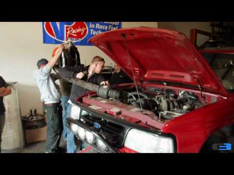Leaf Blower Turbocharged Ford Ranger (HUGE Power)