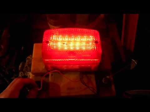 Светодиодные стоп сигналы видео