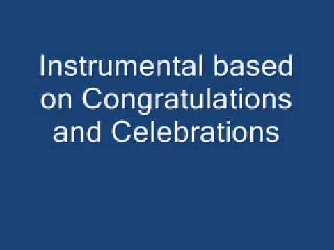 Congratulations and Celebrations (Instrumental)