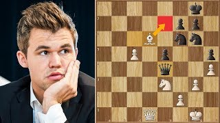 Too Strong a Move Even for 2800   Carlsen vs Mamedyarov   Biel Chess 2018