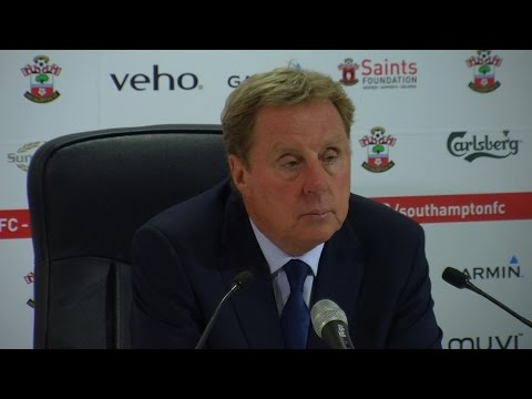 #SOUvQPR I HARRY REDKNAPP'S POST-MATCH PRESS CONFERENCE v SOUTHAMPTON